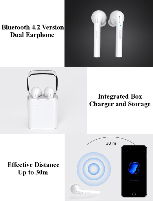 Bluetooth Earbuds Similar to AirPods