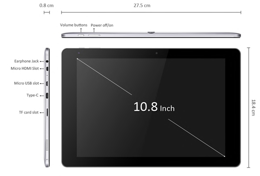CHUWI Hi10 Plus Tablet PC review