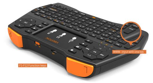 Ergonomic Mini Keyboard