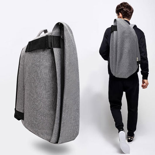 Men Fashion Anti-theft Backpack Casual Waterproof Travel Bag Laptop Bag Mochila with USB Port