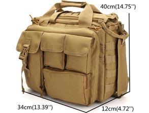 Multi-Functional Tactical Mens Bag review