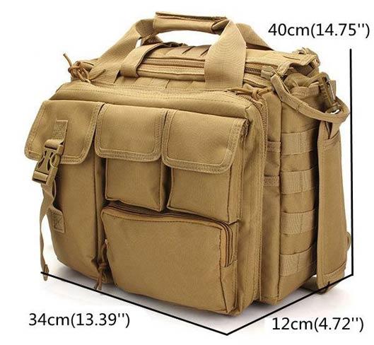 Multi-Functional Tactical Mens Bag
