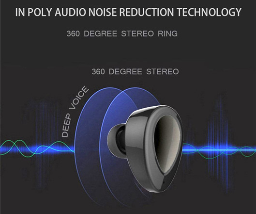 Noise-Cancelling Stereo Earbuds With Microphone