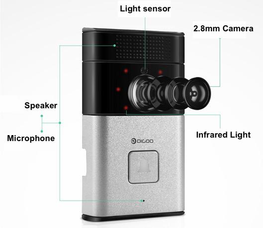Smart WiFi DoorBell Camera for Home