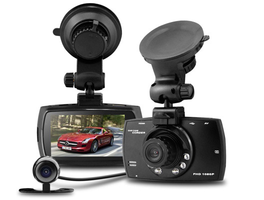 Video Recorder for Car Wide Angle Dual Lens Dash Cam