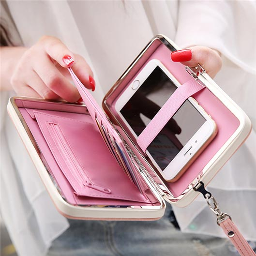 Wallet Phone Clutch