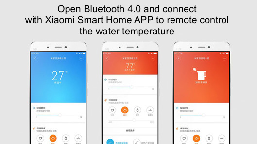 Xiaomi Mi Smart Electric Water Kettle coupon deals