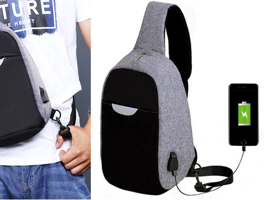 Anti-Theft Bag with USB Port Discount Code