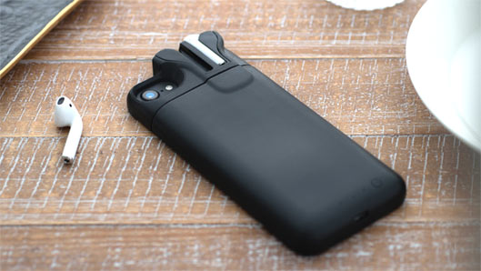 Built-In AirPods Charger iPhone Battery Case