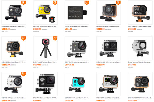 Coupon Deals EKEN Action Camera Deals Discount Code