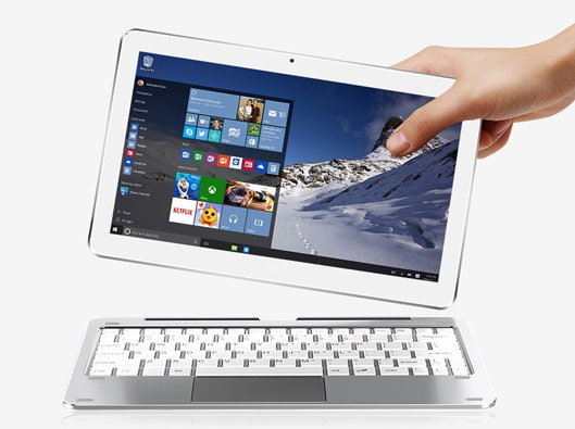 Cube Mix Plus 2-in-1 Tablet PC with keyboard