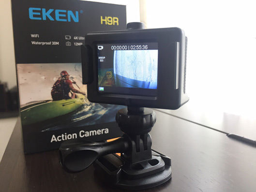 EKEN Electronic Image Stabilization 4K Sports Camera