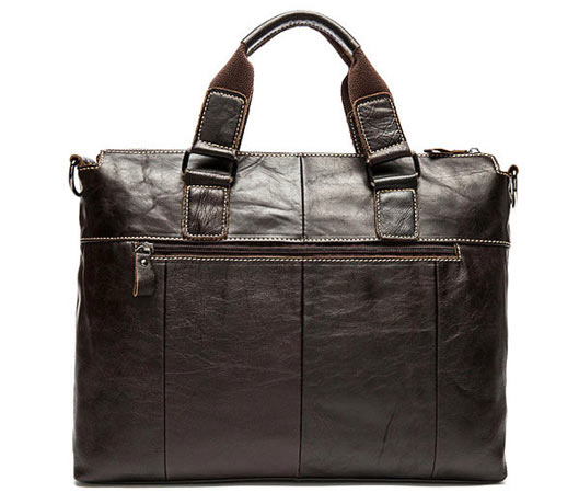 Genuine Leather Business Vintage Handbag