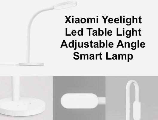 Led Table Light Adjustable Angle Smart Lamp