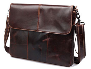 Messenger Bag for MacBook Leather Bag review