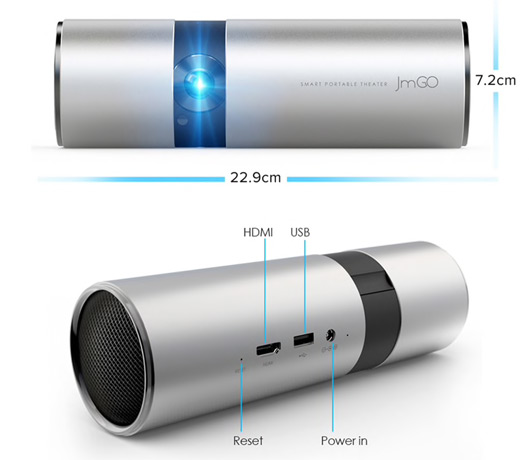 Mini Projector for Home Smart Portable Projector