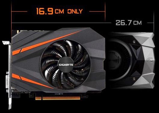 New Gigabyte Mini GeForce GTX 1080