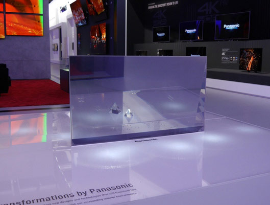 Panasonic Transparent OLED TV