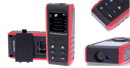 Portable Digital Laser Distance Meter Specs