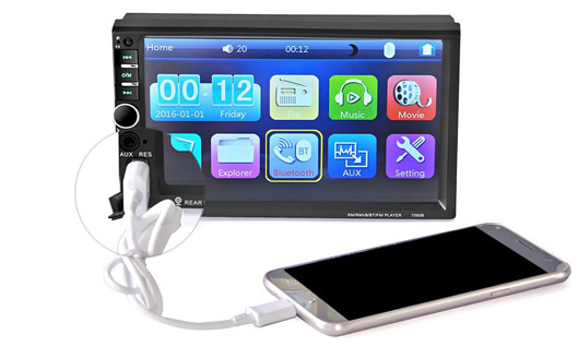 Rear View Camera Touch Screen Display car mp5 player