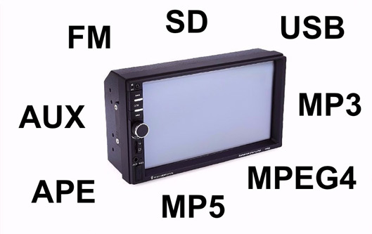 Rear View Camera Touch Screen Display for Car