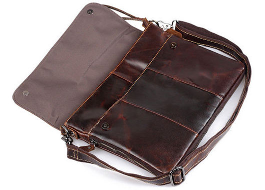 Retro Messenger Bag for MacBook Leather Bag