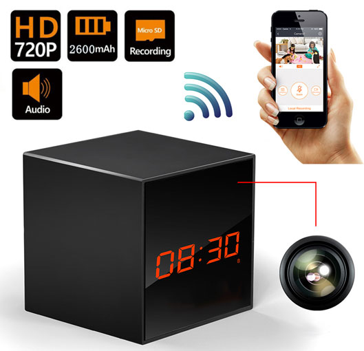 Smart Security Hidden Camera for Home