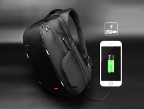 Travel Backpack with USB Charging Port review