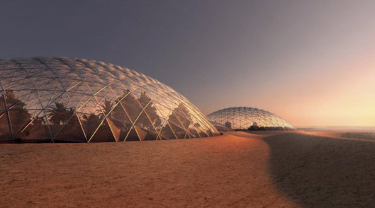 Engineers Will Built a City to Simulate Life on Mars