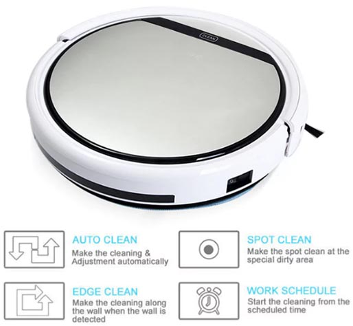 ILIFE V5 Intelligent Robotic Vacuum Cleaner
