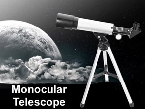 Landscape lens refracting astronomical monocular telescope. reviews