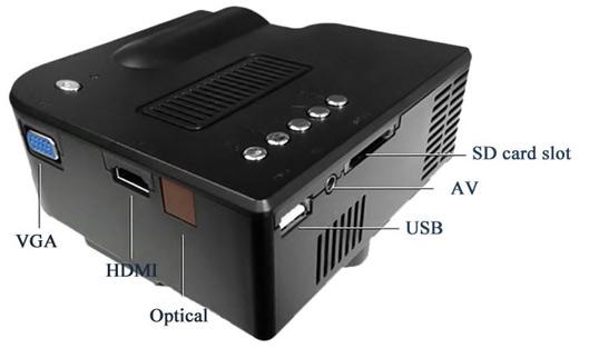 Budget Portable Home Mini Projector
