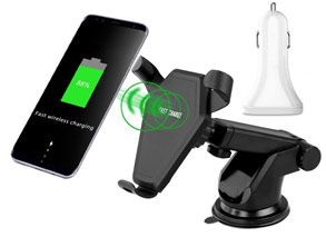 Coupon Deals Qi Wireless Car Charger Mount