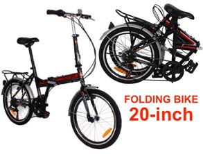 F1 20-inch Bike 7 Speed Folding Bicycle review