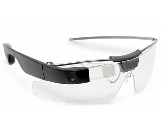 Google AR Glass With Transparent Micro-LED Displays
