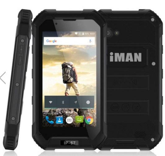 iMAN Coupon Deals Waterproof Rugged Smartphone