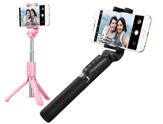 MEIZU Bluetooth Selfie Stick Tripod for Smartphones