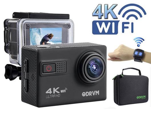 ODRVM Waterproof Outdoor 4k Action Camera