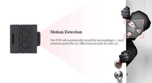 Quelima SQ12 FHD Night Vision Dashcam Home or Car Mini DVR