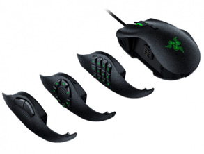 Razer Keyboard and Mouse - Razer Naga Trinity, Tartarus V2