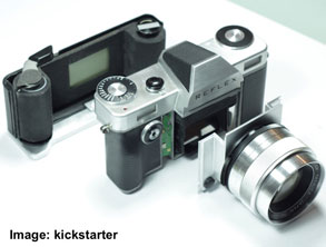 Reflex – New Edition of a Classic Analogue Camera