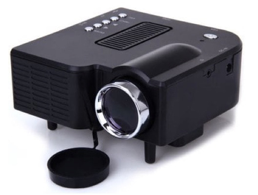 Two Colors Budget Portable Home Mini Projector