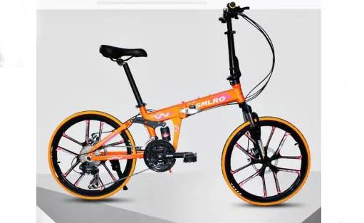 SMLRO MX690Folding Mountain Bike