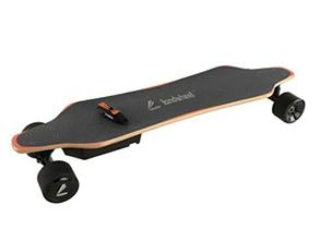 LandwheelE-Wheel Skateboard black and orange