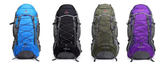 Breathable Waterproof Nylon Mountaineering Backpack