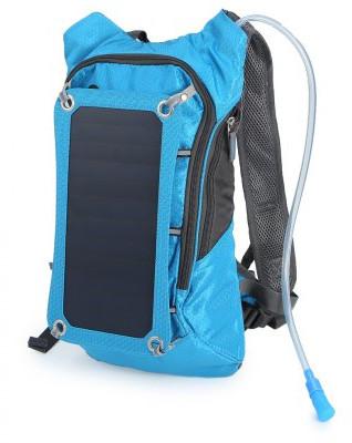 Compact Nylon Solar Backpack