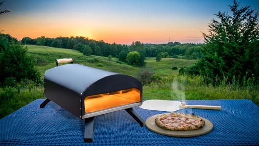 Fast Outdoor Pizza Oven