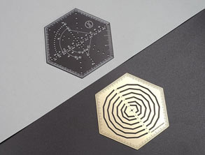 HEXAGONAL Multi-functional Ruler