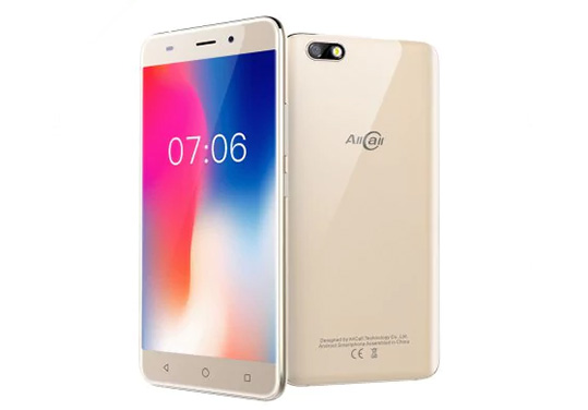 AllCall Madrid 3G Phablet golden