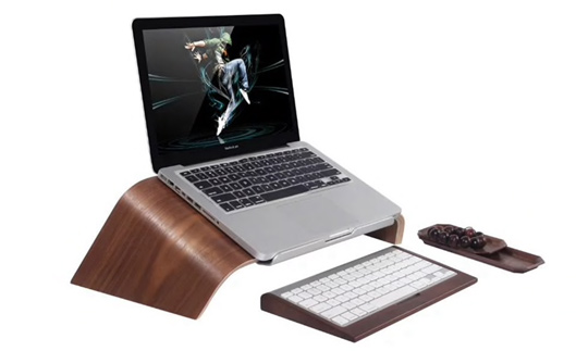 Notebook Stand Wooden Holder for Laptops